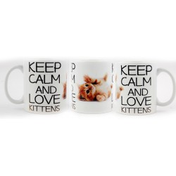 Kubek KEEP CALM AND LOVE KITTENS