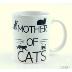 Kubek MOTHER OF CATS