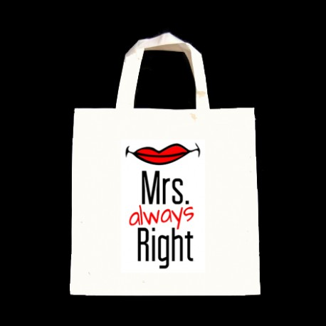 TORBA ECO MRS ALWAYS RIGHT