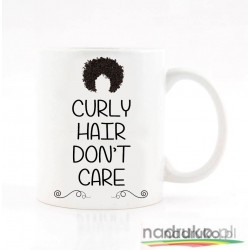 Kubek CURLY HAIR DON'T CARE